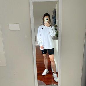Kappa Authentic Tajasy Crew Sweatshirt in White size S
